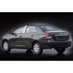 2007 2009 Toyota Yaris Sedan S.E.S Trims® Stainless Steel Pillar Post