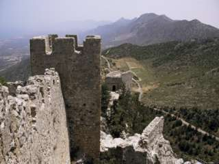 St. Hilarion Castle, North Cyprus, Cyprus Photographic Print by