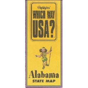 Alabama Puzzle Book (Highlights Which Way USA?, Alabama