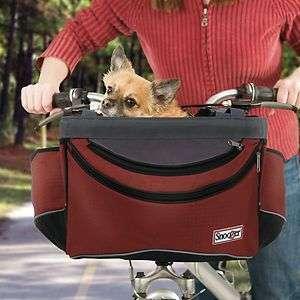 Sporty Pet Bike Basket Dog Cat 15 LB Bike Carrier Bicycle Tote bag w