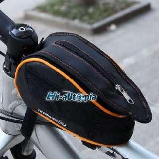 New Bike Bicycle Cycling Frame Front Tube Bag Orange