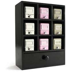 Magpie Black Nesting Storage System