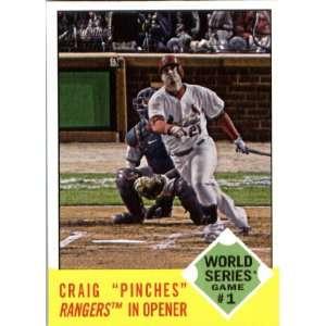 2012 Topps Heritage 142 Allen Craig WS HL   St. Louis Cardinals (World