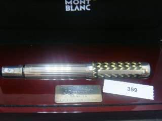 2004 J.P MORGAN 4810 LE #0359/4810 925 Silver+Carbon fiber+MOP STAR