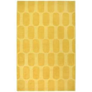 Auckland Collection Honeycomb Gold 5x8 Area Rug: Home
