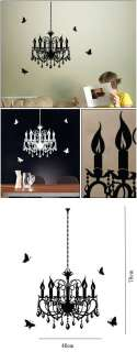 Hottest Wallpaper Wall Vinyl Sticker Decal chandelier 3