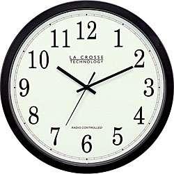 Crosse Technology WT 3143A 14 inch Atomic Wall Clock