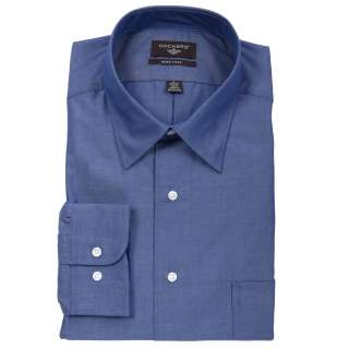 Dockers Mens Dark Blue Dress Shirt  Overstock