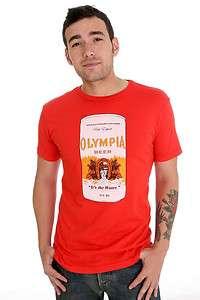 Worn Free Kurt Cobain Olympia Beer T Shirt