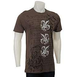 Pop Icon Mens Fleur de Lis T shirt