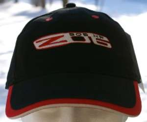 Z06 505HP Corvette Chevy Logo Hat Cap Black NWT