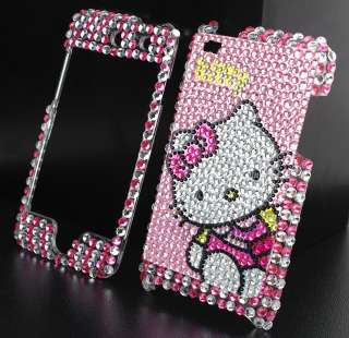 Hello Kitty Bling Hard Case fit Phone iPod Touch 4G 4th