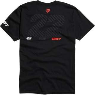 Shift Racing Chad Reed 22 T Shirt Team TwoTwo (fox,mx,supercross
