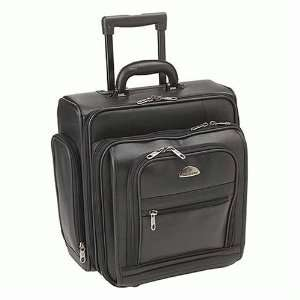 Samsonite Leather Rolling Business Computer Case