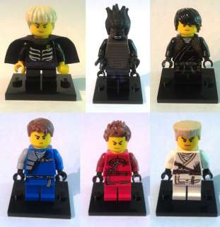 HAIR For Your Lego NINJAGO Minifigures Jay Cole Zane Kai Lord