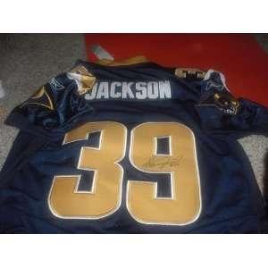 Steven Jackson Signed Jersey   Autographed NFL Jerseys