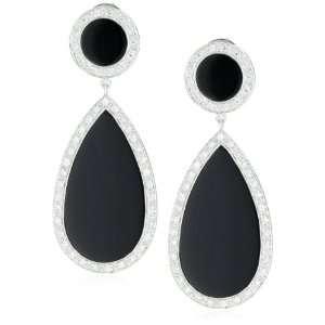 Dana Rebecca Designs Sara Elizabeth Black Onyx Earrings