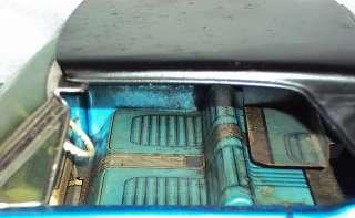 Oprated Yonezawa FORD MUSTANG Convertible Tinplate Toy Car Japan