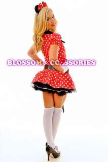 Mickey Mouse Fancy Dress Halloween Disney Theme Costume & Ears