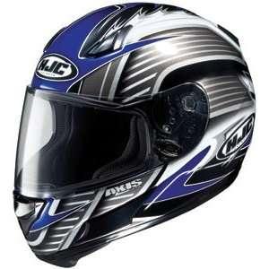 HJC AC 12 Axis MC 2 Full Face Motorcycle Helmet Blue