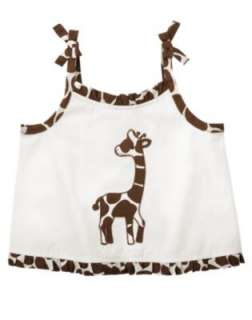 GYMBOREE Safari Fashion Giraffe Print Top Cover Up NWT