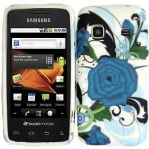 Turqoise Flower Hard Case Cover for Samsung Galaxy Precedent