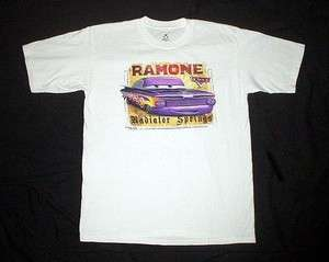 Vintage Disney Pixar CARS Ramone T SHIRT L