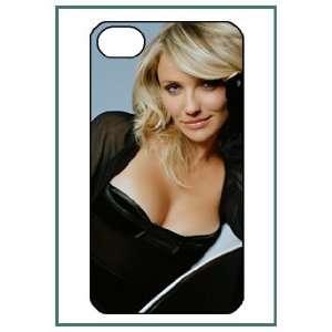Cameron Diaz iPhone 4 iPhone4 Black Designer Hard Case