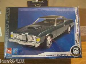 AMT ERTL MERCURY COUGAR STREET CUSTOM PLASTIC MODEL KIT SKILL LEVEL 2