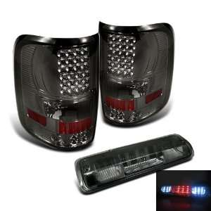 Eautolights 04 08 Ford F150 Pickup LED Smoked Tail Lights + 3rd Third