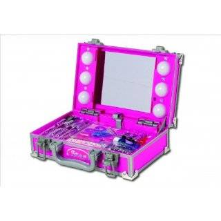 GIRLS Star Play MAKE UP Light Up PINK Case Gift NEW