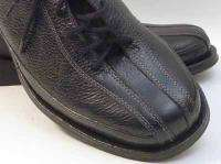 PUSH Mens Black Leather Shoes, 8.5M, NWOT LAST CHANCE SALE