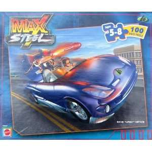 Max Steel 100pc. Puzzle MX48 Turbo Vehicle Toys & Games