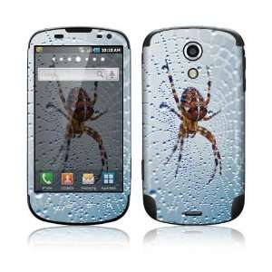 Dewy Spider Decorative Skin Cover Decal Sticker for Samsung Epic 4G