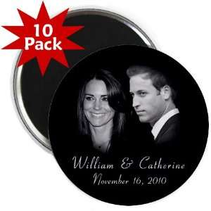 Prince William Kate Middleton Royal Engagement 10 Pack of