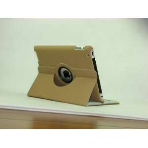 Patent Supercase KAJI 360 Degrees Rotating Stand Leather Case for iPad