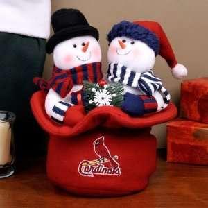 St. Louis Cardinals Snowmen Top Hat
