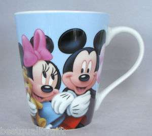 MICKEY MOUSE BY DISNEY STONEWARE TEA COFFEE MUG CUP NEW