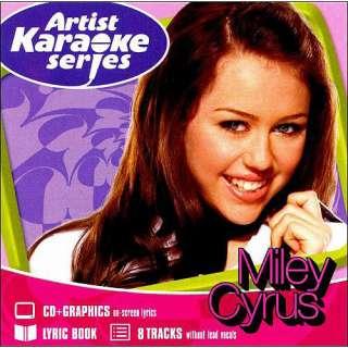 Artist Karaoke Series Miley Cyrus, Karaoke Wal Mart CD Store