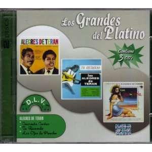 Los Alegres De Teran Los Grandes Del Platino 3cds EMI
