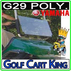Yamaha G29/Drive Golf Cart Folding Flip Windshield Clear 3/16