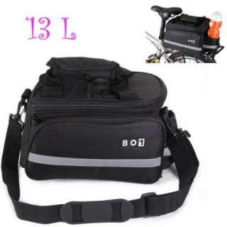 2012 Bike Bicycle Cycling Rear Seat Pannier Frame Pack Bag Shoulder