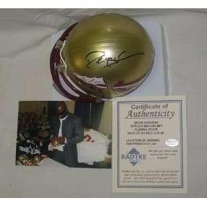 Autographed/Hand Signed Florida State Seminoles Football Mini Helmet