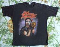 KING DIAMOND Vintage Concert SHIRT 80s TOUR T RARE ORIGINAL Altered