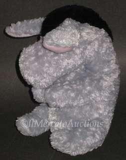DISNEY Classic Pooh Plush EEYORE Baby TOY Lovey Grey