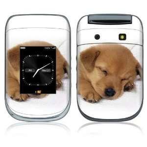 BlackBerry Style 9670 Skin Decal Sticker   Animal Sleeping Puppy