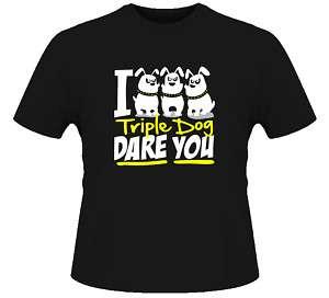 Christmas Story Triple Dog Dare T Shirt