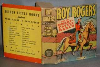 ROY ROGERS & THE DWARF CATTLE RANCH 1940 BLB #1421