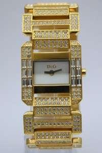 Dolce & Gabbana Royal Women Crystals Gold Watch DW0220