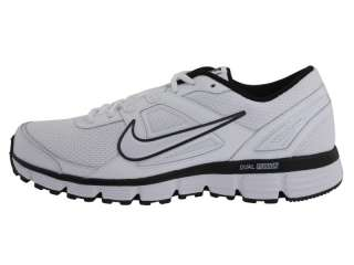 Nike Dual Fusion ST Mens Running Shoes White Black 407853 103 2011